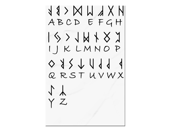Cryptogram Puzzle With Symbols