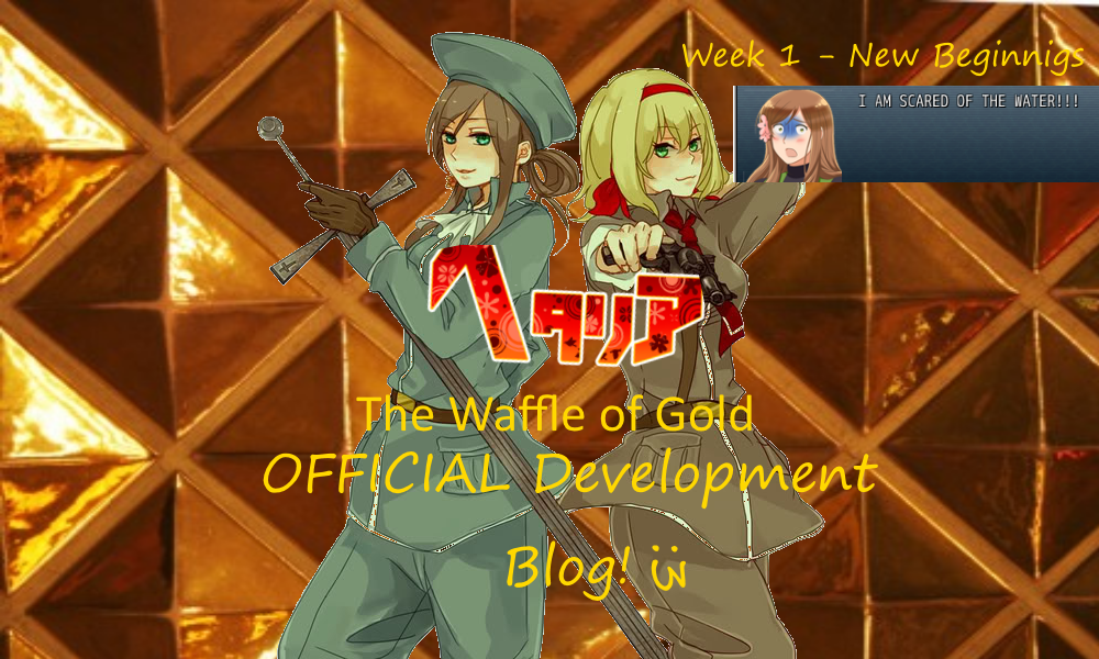 Week 1 - New Beginnings - The Waffle of Gold! Development
