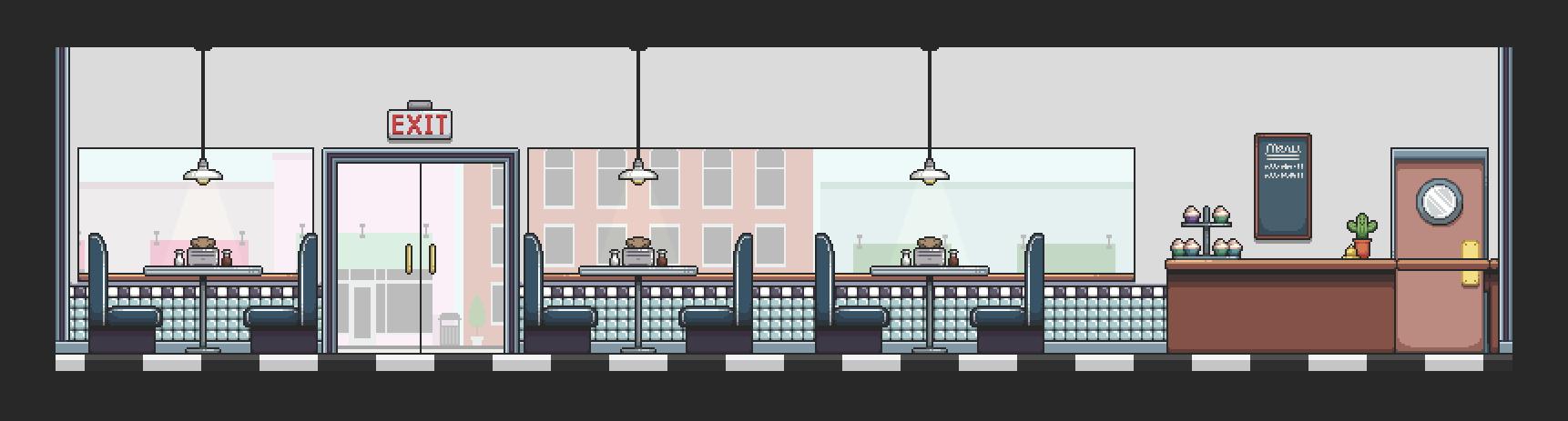 Café/Diner Map