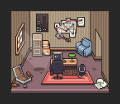 Detective's Office - Map