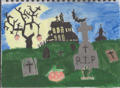 Halloweeny Graveyard