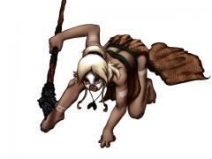 Fan Art of Amy's Tribal Girl~