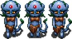Treilin Walking Sprite, Cryptic