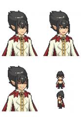 Vampire - Pixel Bust