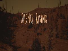 SILENCE RISING Title Screen