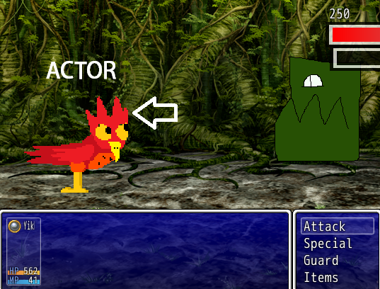 Custom sprites for battling actors - Editor Support and