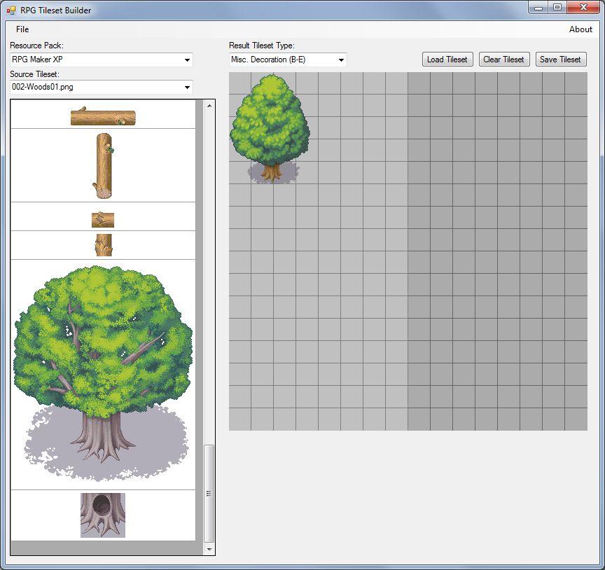 The RPG Maker Tileset Builder - Updated March 25, 2015