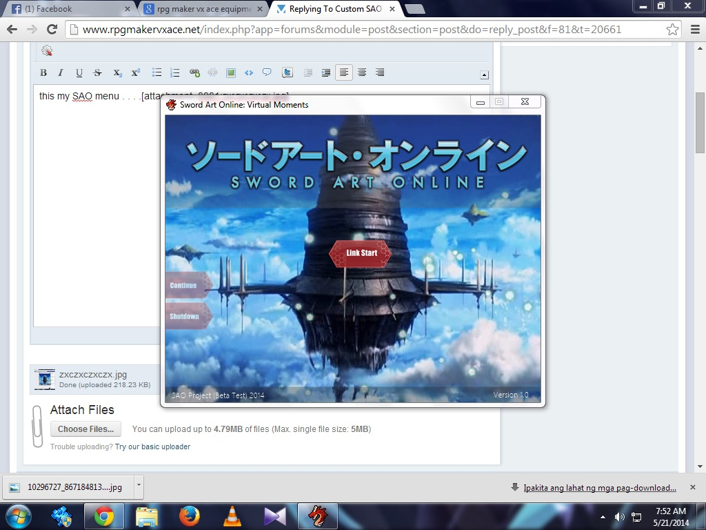 Custom SAO menu - Programming - RPG Maker Central Forums