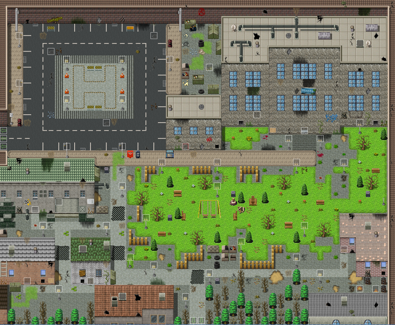 My first modern city map screenshots and mapping rpg for Building map maker