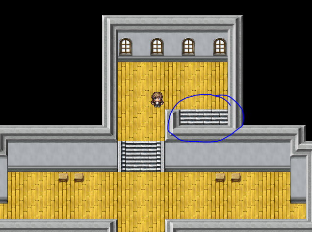 Stairs Prespective - Screenshots and Mapping - RPG Maker