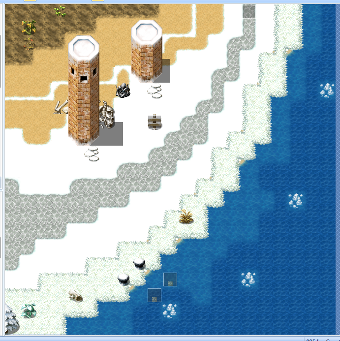 Depth and Pespective - Screenshots and Mapping - RPG Maker
