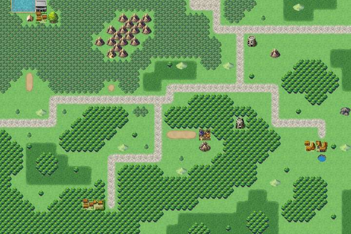 Overworld maps - Provinces and Regions -