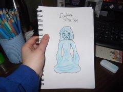 Iceberg Slime Girl