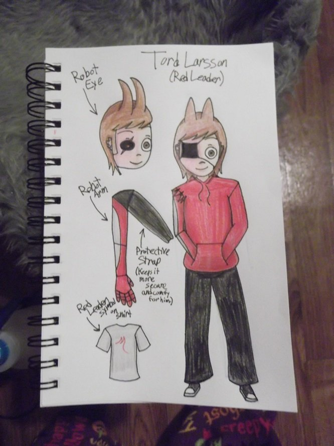Tord Character Sheet