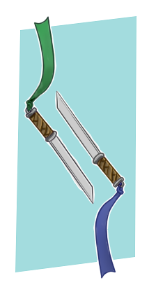 Siblings Short Swords